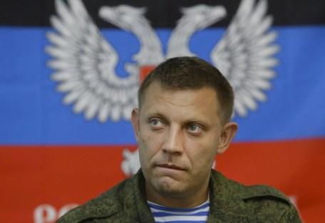 Il primo ministo dell'autoproclamata Repubblica del popolo di Donetsk Alexander Zakharchenko.