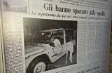 """""""Il Mattino"""" del giorno successivo all'assassinio di Giancarlo Siani."""