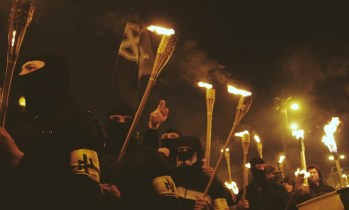 Parata di militanti del Partito repubblicano.