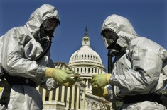 Durante i giorni dell'attacco di antrace al Congresso tutti gli edifici del parlamento Usa vennero isolati.
