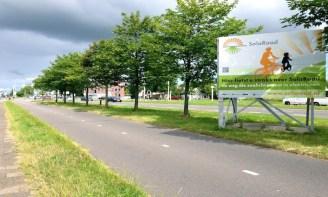 La pista ciclabile SolaRoad a Krommenie.