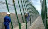 Melilla, muro con lame trancianti