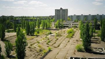 Oggi Chernobyl è una città fantasma.