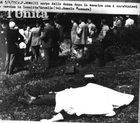 Sotto il lenzuolo il corpo senza vita di Annamaria Mantini
