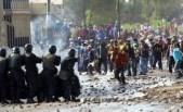 Foto repertorio proteste dei mesi scorsi contro il progetto minerario Tia Maria