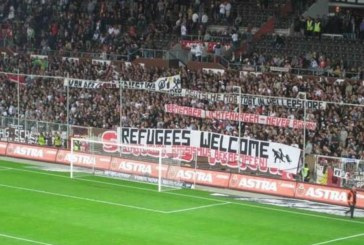 "Germania: ""Refugees Welcome"", l'antirazzismo vince in curva"