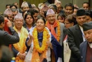Donna,  femminista, comunista. E presidente del Nepal