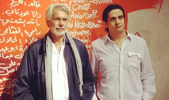 Chris Decon e Ashraf Fayadh