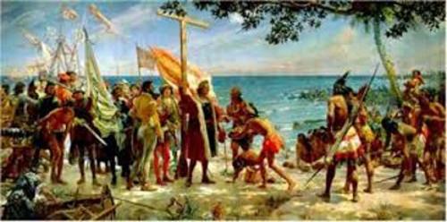 colombo e gli indios