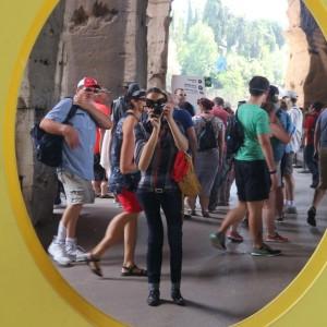 Colosseo, un'icona, ingresso alla mostra