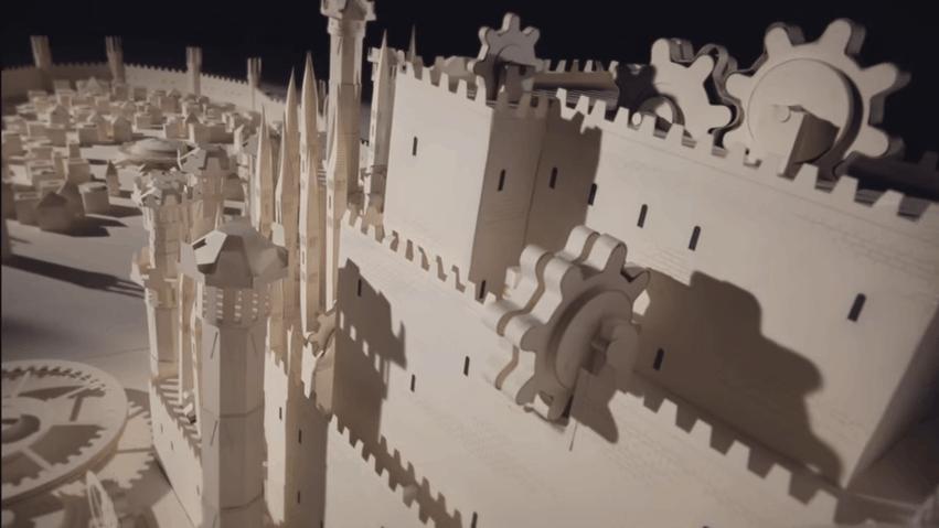 Game Of Thrones Papercraft PopOptiq