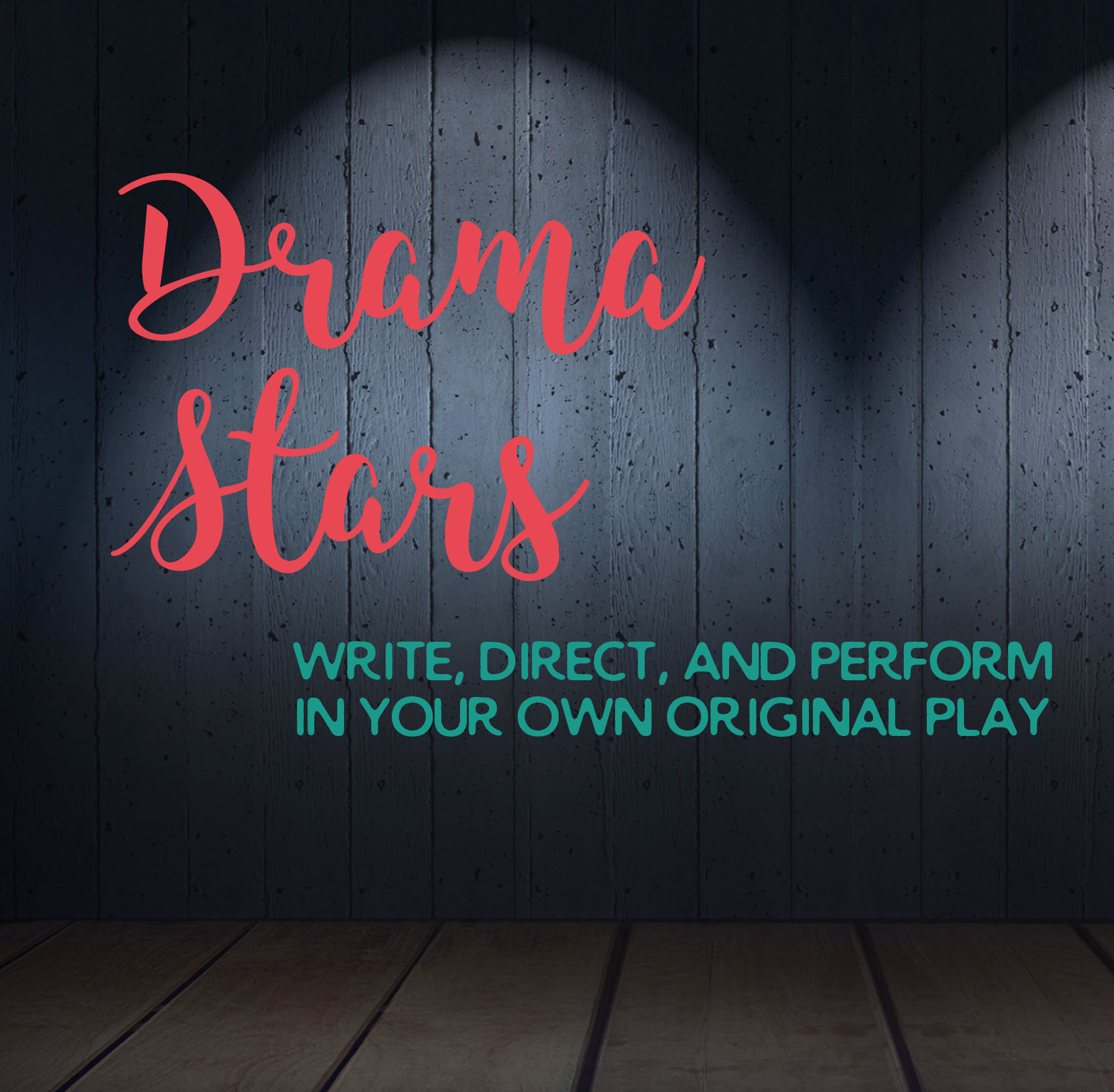Mini Drama Stars: 1st-3rd Grade: Aug 7 -18 from 9 am – 12:30 pm