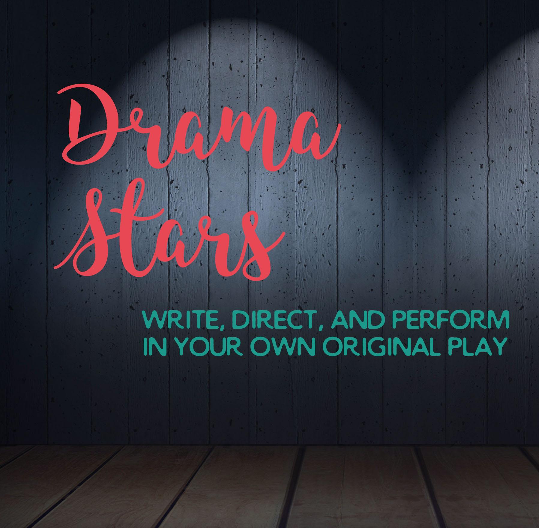 Mini Drama Stars: 1st-3rd Grade: Aug 7 -18 from 9 am – 12:30 pm