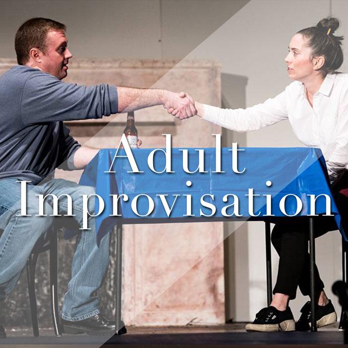 Adult Improv: Wednesdays 7:00-8:00pm
