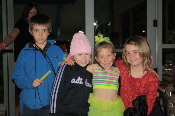 Glow Party VIPs - Jesse, Ella, Poppy & Alice