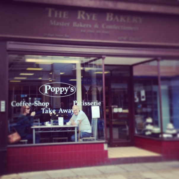 Poppy's Coffee Shop!