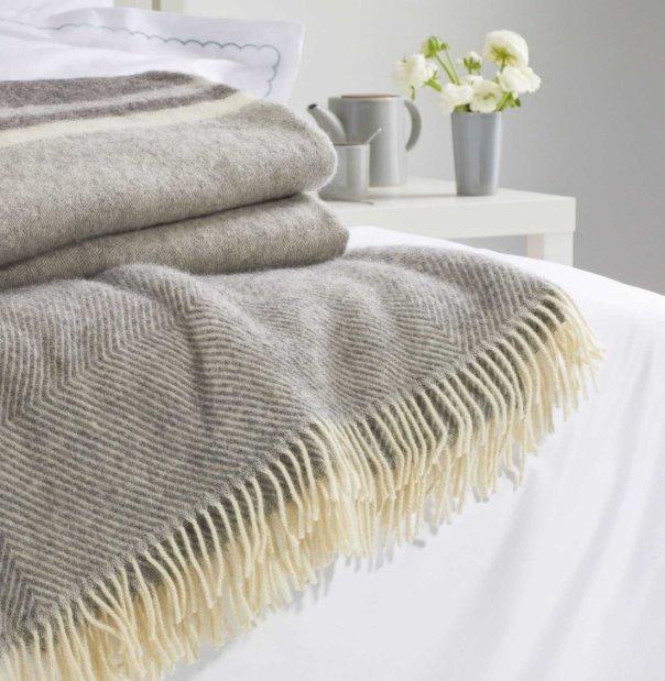 Gotland Grey Blanket - Urbanara - £55 - 100% wool