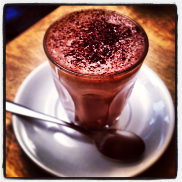 I may also have had a sneaky hot chocolate.. couldn't resist...