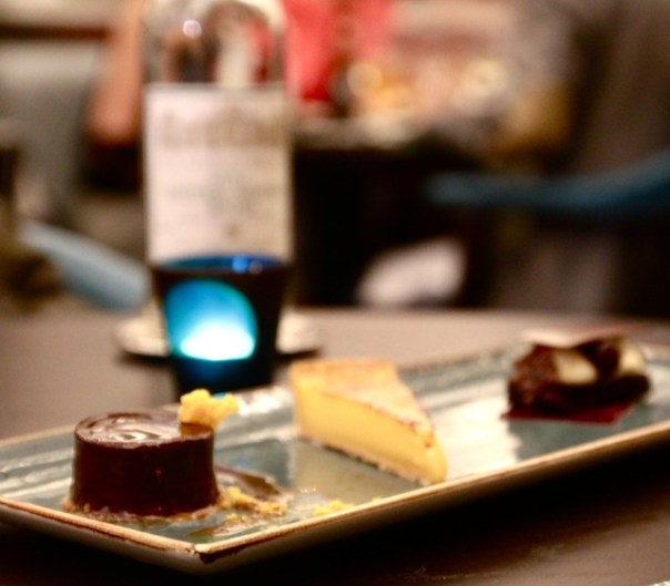 - Tarte au citron, fromage frais - Black forest. kirsch and cherry diplomat -