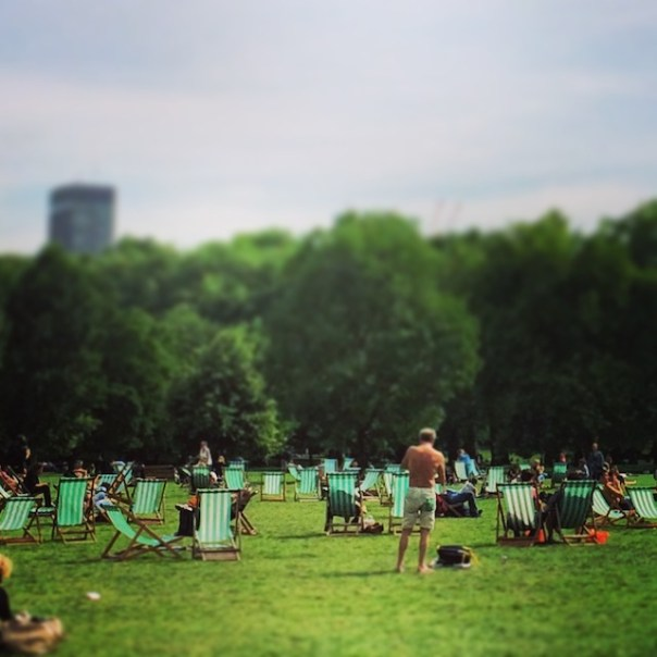 Green Park looking lovely