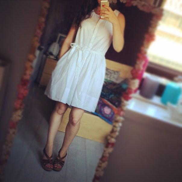 Love my new Shirt Dobby Dress from Gap