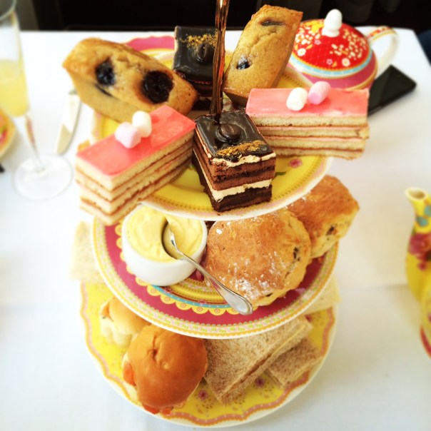 Afternoon Tea at the Charing Cross Hotel on Sunday afternoon