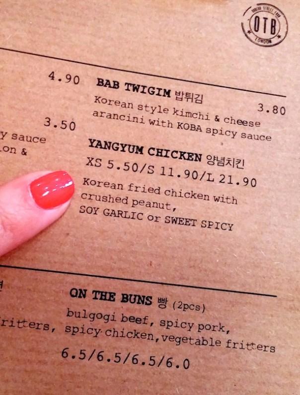On The Bab - Korean Street Food in Old Street, London