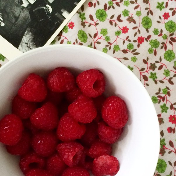 Poppy Loves: Fresh raspberries from Portobello market