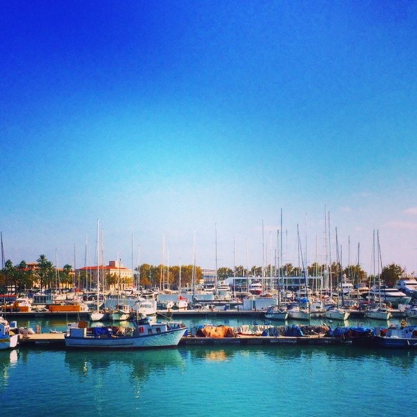 The harbour in Palma, Majorca