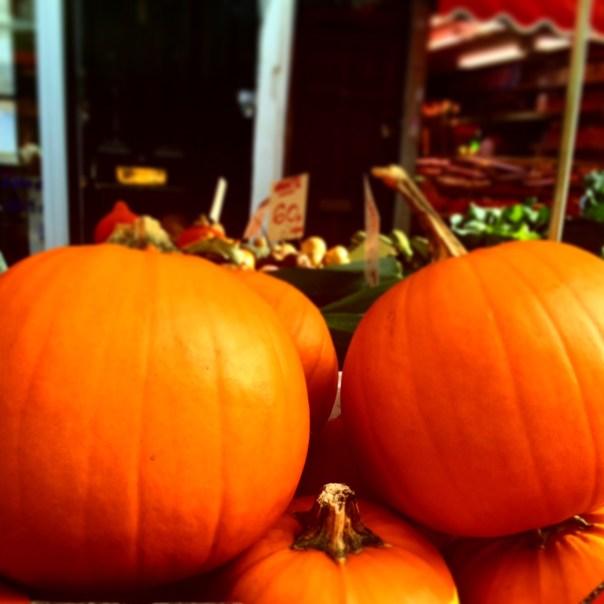 Pumpkins on Portobello Road