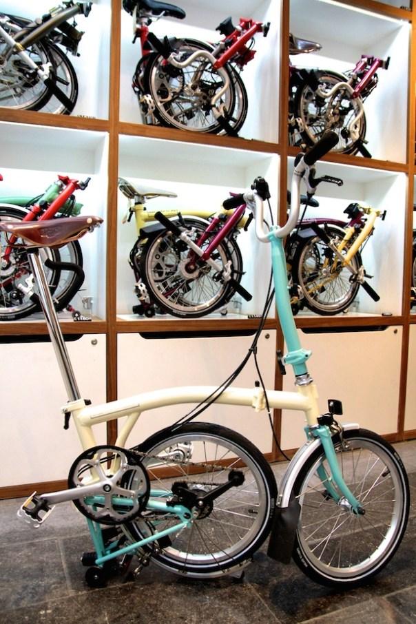 Brompton Bicycles ss15