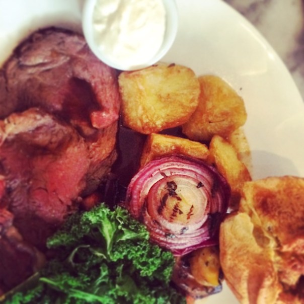 Sunday Roast at No. 11 Pimlico Road