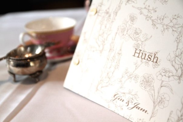 Afternoon Tea at Hush in Mayfair