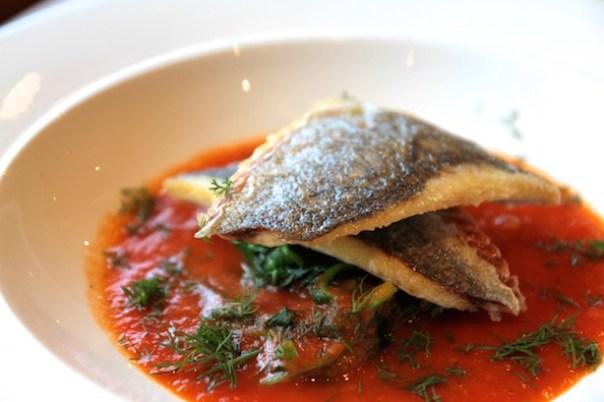 Fresh fish bouillabaisse