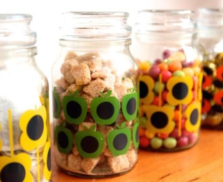 Orla Kiely Coffee Jars - Douwe Egberts
