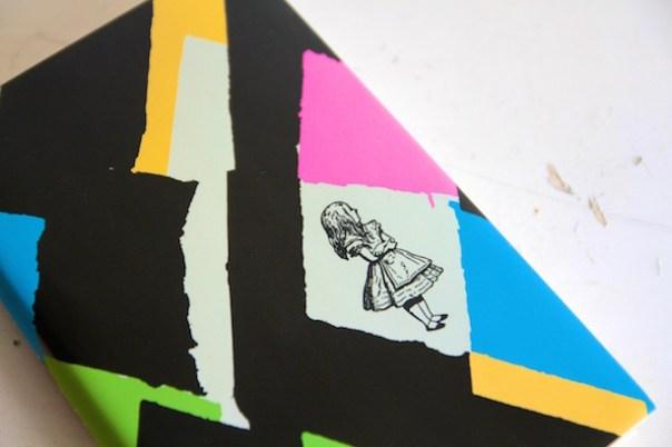Vivienne Westwood book jacket Alice in Wonderland