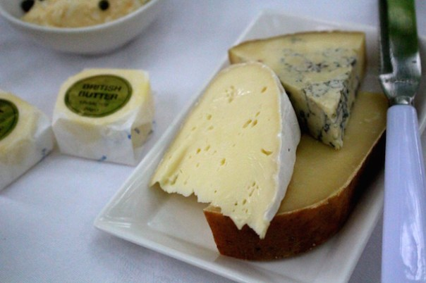 British artisan cheeses