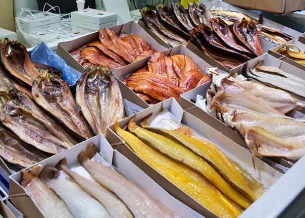 Billingsgate Fish Market, London, UK