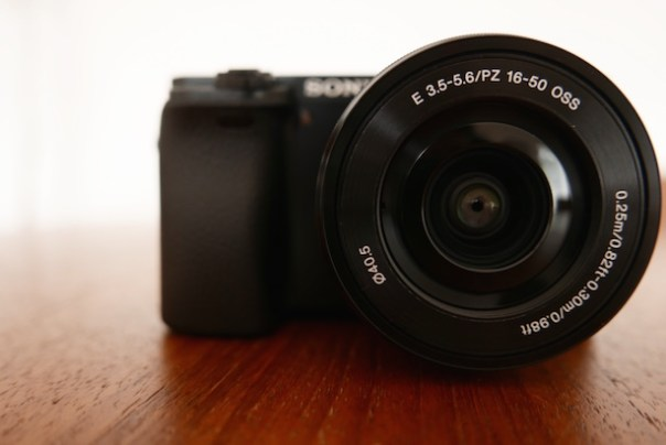 Sony A6000 compact camera system