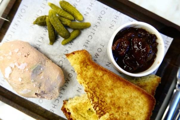 Chicken Liver & Foie Gras Parfait chutney, brioche