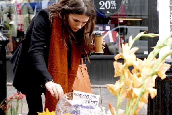 flower stall on Portobello Road