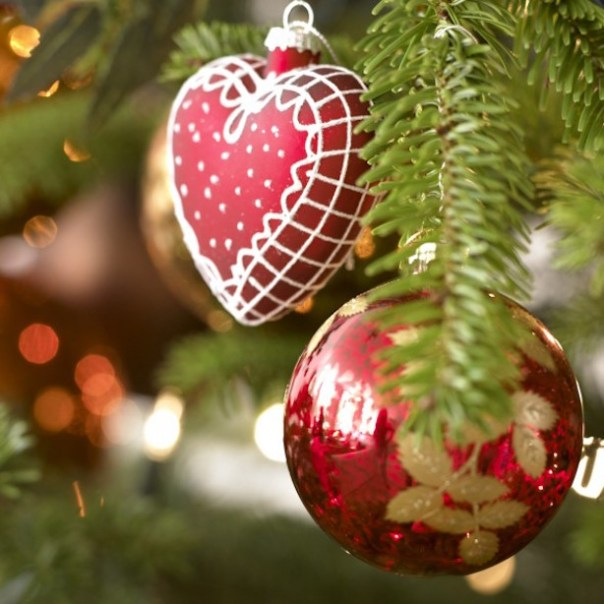 Even the baubles are perfect... (pic from Good Housekeeping)