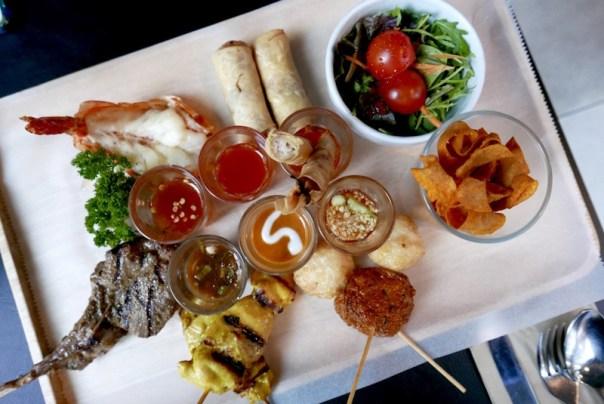 Lunch at SUDA Thai in Soho