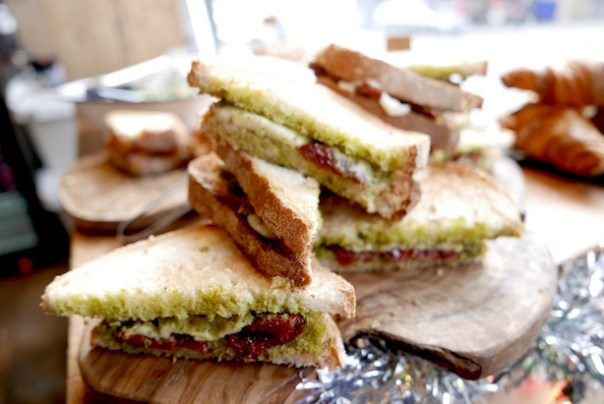 Blighty Coffee sandwiches