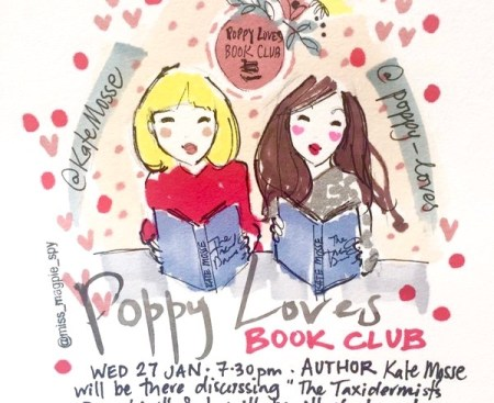 Poppy Loves Book Club Kate Mosse