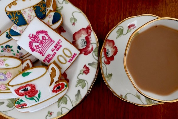 Royal Albert tea set