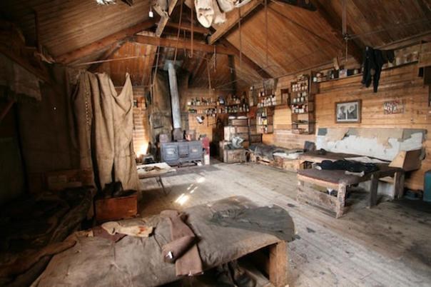 NZAHT Shackleton's hut interior