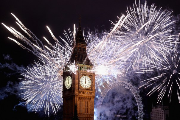 Fireworks in London 2016