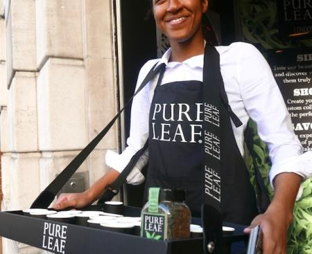 Pure Leaf London Pop Up