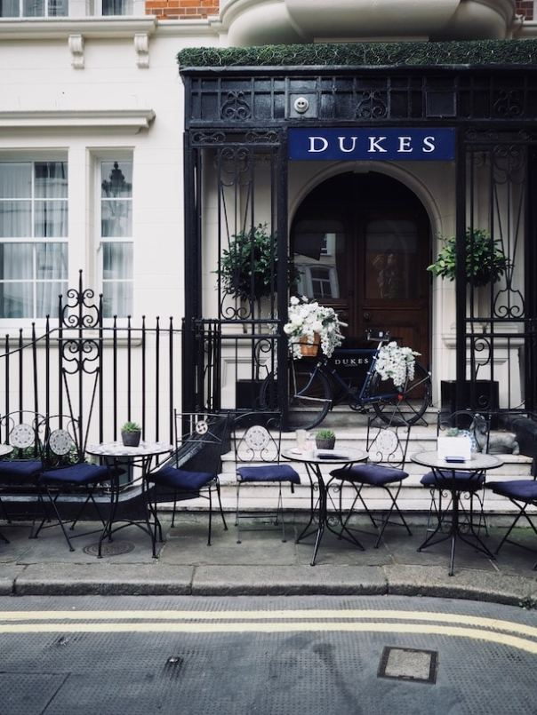 Dukes London Mayfair Afternoon Tea